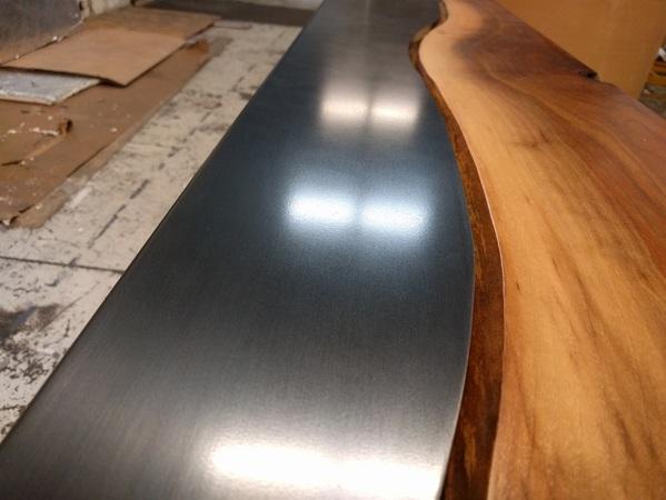 Blackened Stainless Steel Patinas